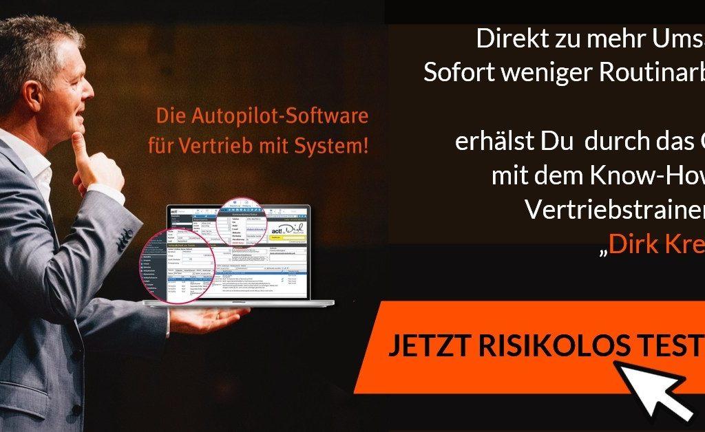 Autopilot Software für Ihren Vertrieb