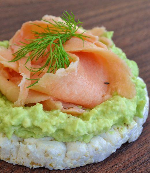 Trend-Foods Lachs und Avocado
